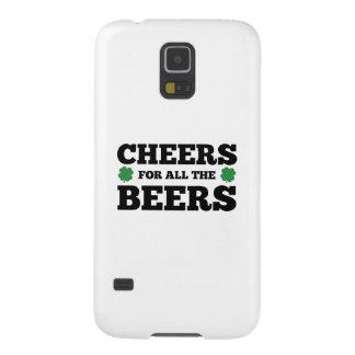すべてのビールのための応援 GALAXY S5 ケース