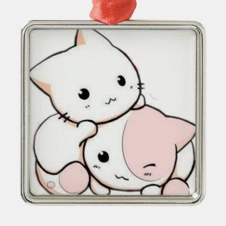 すべてのプロダクトのための美しい猫 メタルオーナメント