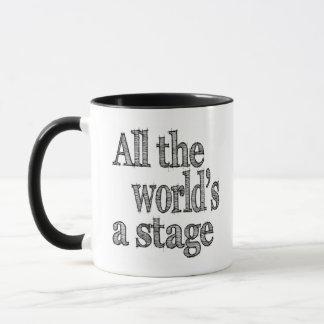 すべての世界ステージ マグカップ
