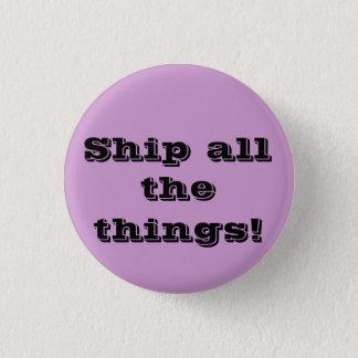 すべての事を出荷して下さい! おもしろいなfangirlボタン 3.2cm 丸型バッジ
