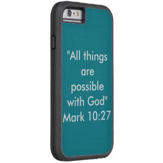 """""""すべての事可能な""""はIPhone 6/6Sの電話箱です Tough Xtreme iPhone 6 ケース"""