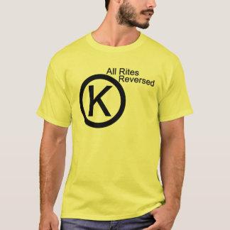 すべての儀式によって逆転させるティー Tシャツ