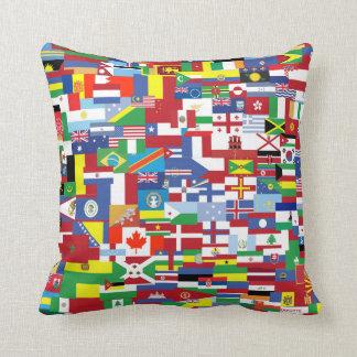 すべての国家の旗 クッション
