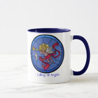 すべての天使の呼出し マグカップ