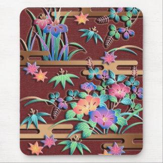 すべての季節の花 マウスパッド