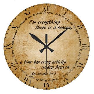 すべての時間時計 ラージ壁時計