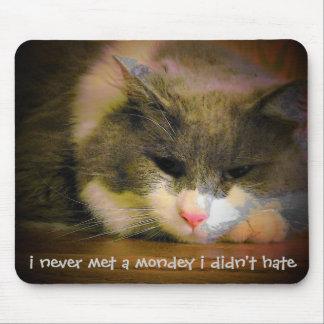 すべての月曜日を憎んで下さい マウスパッド