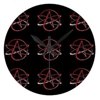すべての柱時計のための無神論 ラージ壁時計