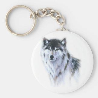 すべての栄光の素晴らしく激しいオオカミ キーホルダー