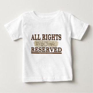 すべての権利 ベビーTシャツ