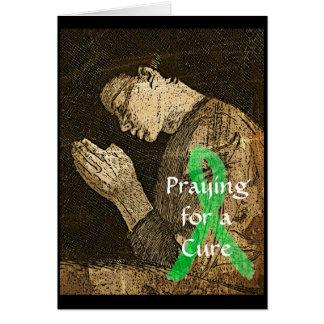 すべての治療のために祈ること。 カードライム病 グリーティングカード