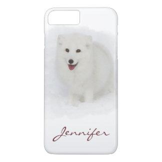 すべての白いホッキョクギツネ iPhone 7 PLUSケース