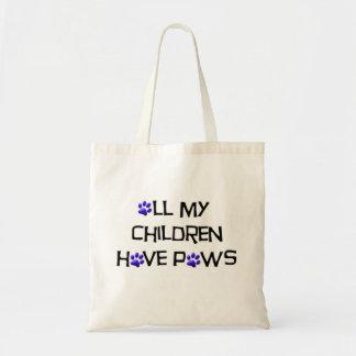 すべての私の子供は足のバッグを持っています トートバッグ