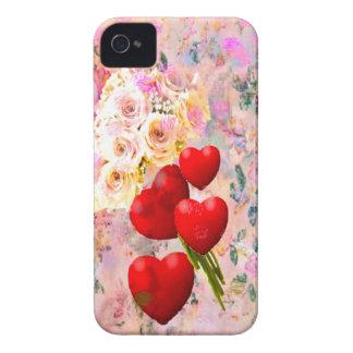 すべての私の愛とのあなたへのバラの花束 Case-Mate iPhone 4 ケース