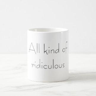 すべての種類のばかばかしい コーヒーマグカップ
