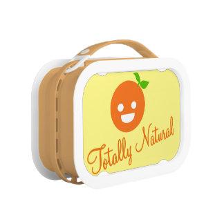 すべての自然なオレンジyuboのお弁当箱 ランチボックス