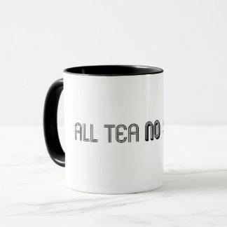 すべての茶陰のマグ無し マグカップ