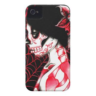 すべての行った死んでいる砂糖のスカルの女の子 Case-Mate iPhone 4 ケース