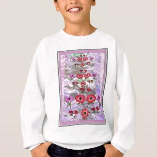 すべての行事のためのギフトのエレガントな花の表示 スウェットシャツ