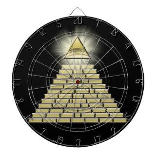 すべての見る目のピラミッド2 ダーツボード