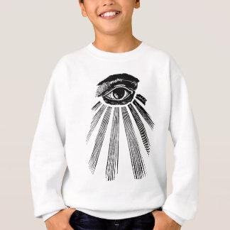 すべての見る目の今Illuminatiの新世界秩序 スウェットシャツ