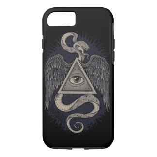 すべての見る目、神秘的な電話箱 iPhone 7ケース
