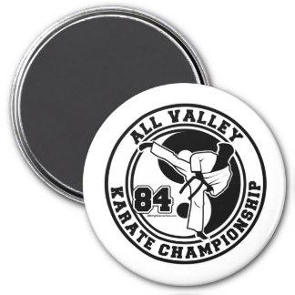 すべての谷の空手選手権 マグネット