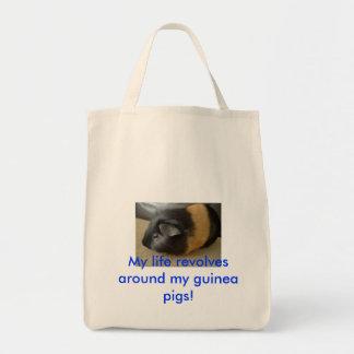 すべての豚のような恋人のためのモルモットのバッグ! トートバッグ