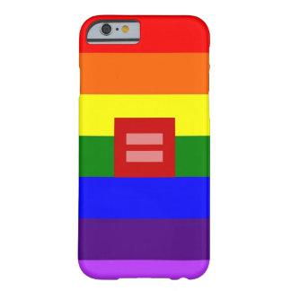 すべての電話タイプのためのLGBTのプライドの場合! BARELY THERE iPhone 6 ケース