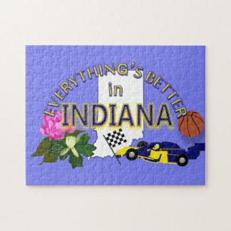 すべてはインディアナのパズルでよりよいです ジグソーパズル