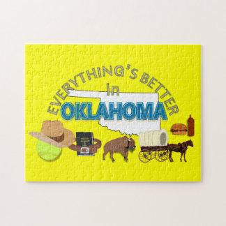 すべてはオクラホマのパズルでよりよいです ジグソーパズル