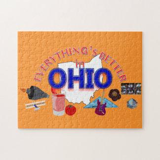 すべてはオハイオ州のパズルでよりよいです ジグソーパズル