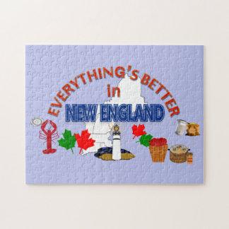 すべてはニューイングランドのパズルでよりよいです ジグソーパズル
