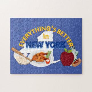 すべてはニューヨークのパズルでよりよいです ジグソーパズル