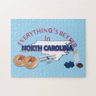 すべてはノースカロライナのパズルでよりよいです ジグソーパズル
