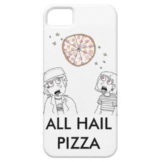 すべてはピザを呼びます iPhone SE/5/5s ケース