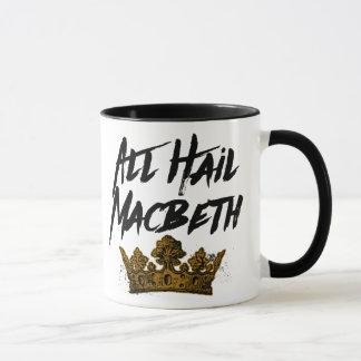 すべてはマクベスを呼びます マグカップ