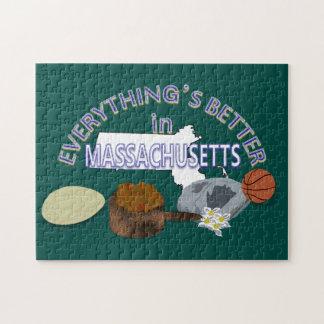 すべてはマサチューセッツパズルでよりよいです ジグソーパズル