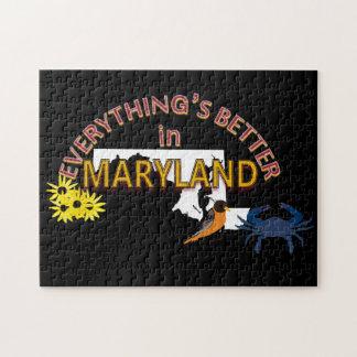 すべてはメリーランドのパズルでよりよいです ジグソーパズル
