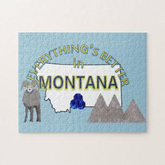 すべてはモンタナのパズルでよりよいです ジグソーパズル