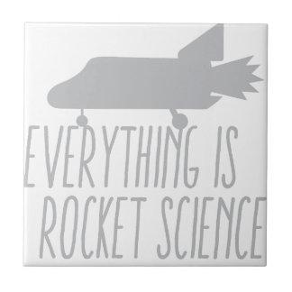 すべてはロケット科学です タイル