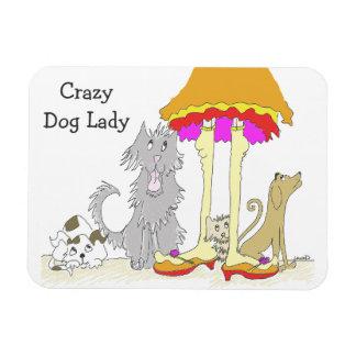 すべては動物の慈善熱狂するな犬の女性に進みます マグネット