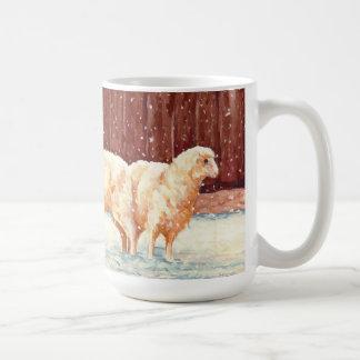 すべては穏やかなヒツジのマグです コーヒーマグカップ