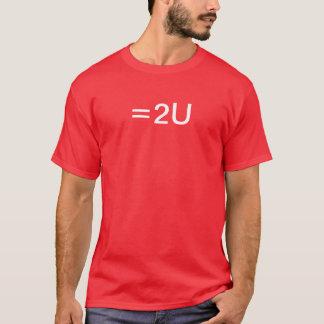 すべては等しいです Tシャツ