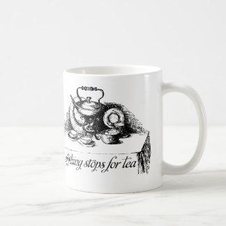 すべては茶マグ、お茶会のためにストップ コーヒーマグカップ