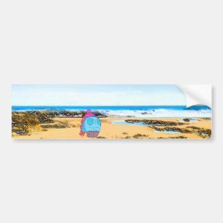 すべては- Seahamのビーチに過ごされた年を洗浄しました バンパーステッカー