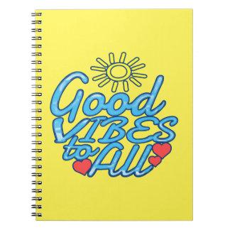 すべてへのよい感情 ノートブック