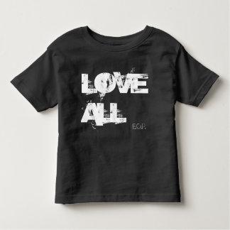 すべてを愛して下さい トドラーTシャツ