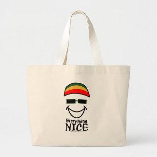 すべてニースジャマイカ ラージトートバッグ