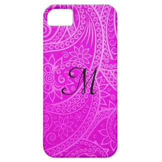 すみれ色および紫色の東洋の電話箱 iPhone SE/5/5s ケース